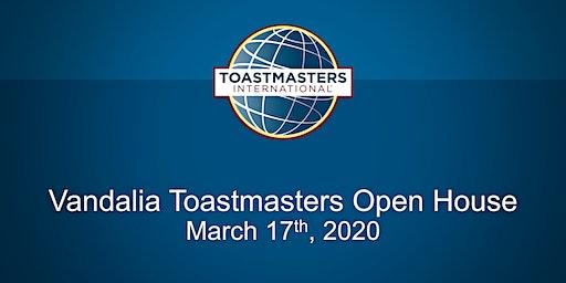 The Vandalia Toastmasters Club Open House
