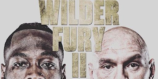 Deonay Wilder vs Tyson Fury 2! Boxing at Queens Best Sports Bar: Hangar 11