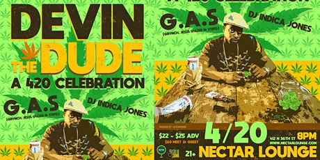 Rescheduled: DEVIN THE DUDE: A 420 celebration tickets