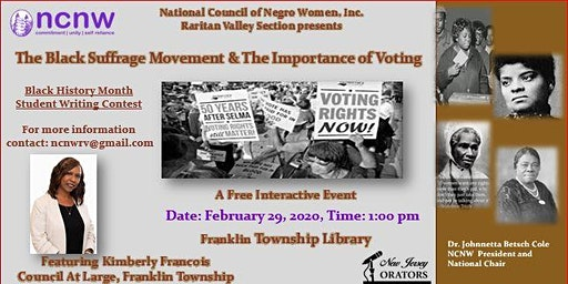 The Black Suffrage Movement & The Importance of Voting
