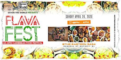 FLAVA FEST tickets