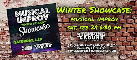 Winter Student Showcase- Musical Improv Level 1 tickets