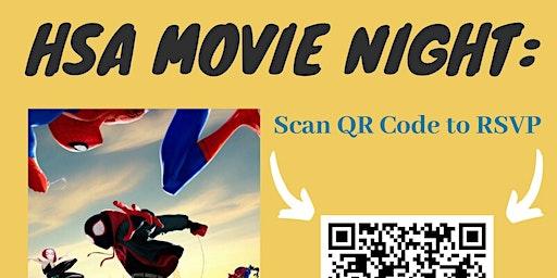 HSA Movie Night: Spiderman: Into the Spider-Verse