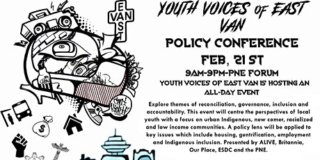 Youth Voices of East Van Policy Conference tickets