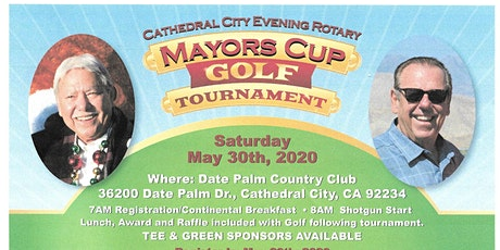 Mayors' Cup Golf Tournament tickets