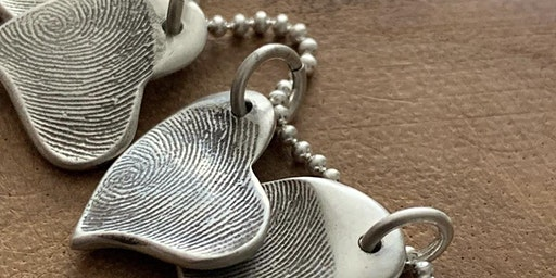 Mother's Day Thumbprint Silver Jewelry Making for the Perfect Gifts