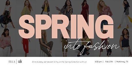 ELLA + CABI | Spring Into Fashion Event tickets