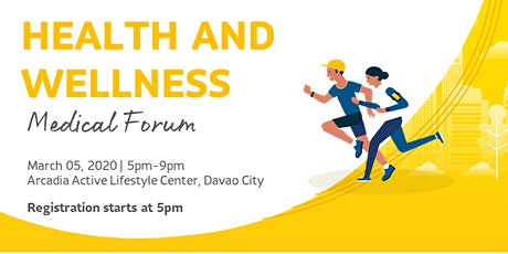 Health and Wellness Medical Forum tickets