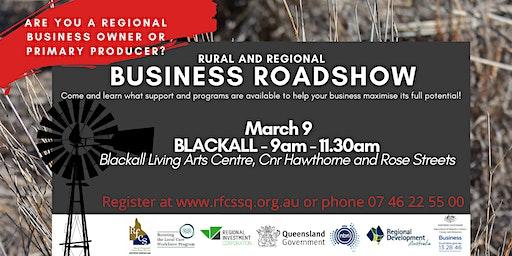 BLACKALL Rural & Regional Business Roadshow