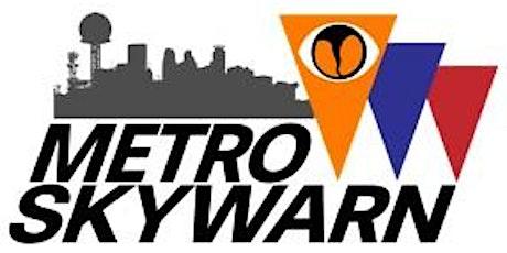 POSTPONED - Metro Skywarn 2020 Training tickets