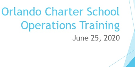 Orlando Charter School Operations Training Session tickets