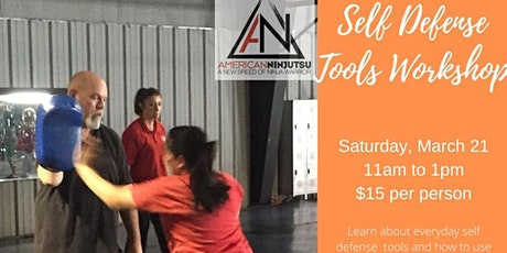 Self Defense Tools Workshop tickets
