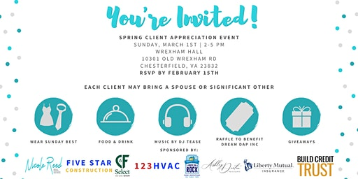 Spring Client Appreciation Event