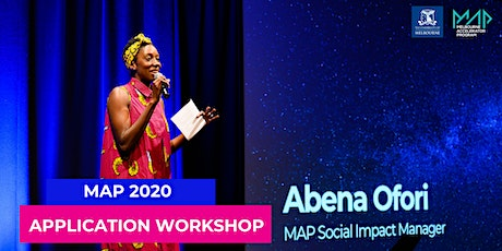 MAP 20 Application Workshop tickets