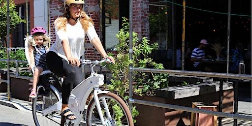 Tiller Rides Roadster electric bike test ride event