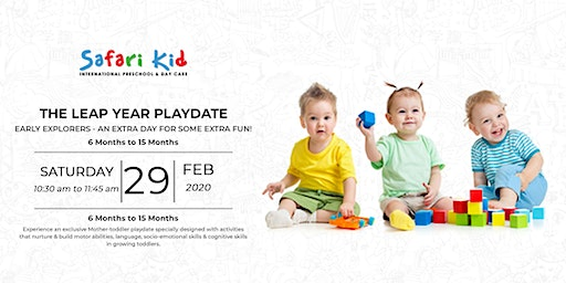 Early Explorers Playdate- Safari Kid Bandra
