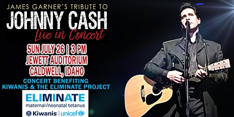 James Garner's Tribute to Johnny Cash | Jewett Auditorium | Caldwell, Idaho tickets
