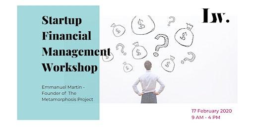 StartUp - Financial Management Workshop