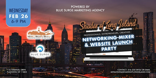 Professional Networking Mixer & Website Launch for Shades Of Long Island