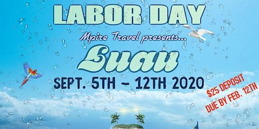 Labor Day Luau 2020