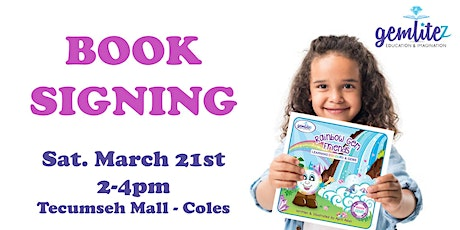 Children's Book SIGNING-Rainbow Gem Friends – Learning Colours & Gems tickets