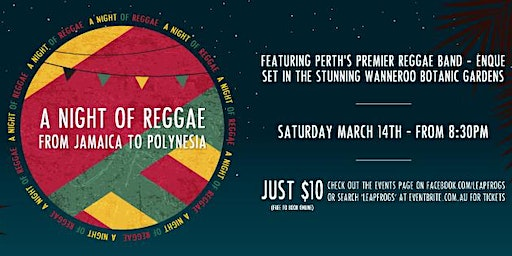 A Night of Reggae, from Jamaica to Polynesia
