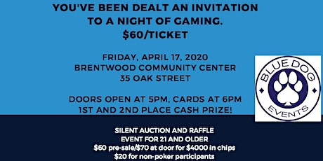Bristow Middle School Parents Night Out Poker Fundraiser tickets