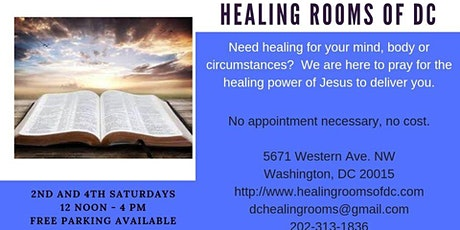 Healing Rooms of DC tickets