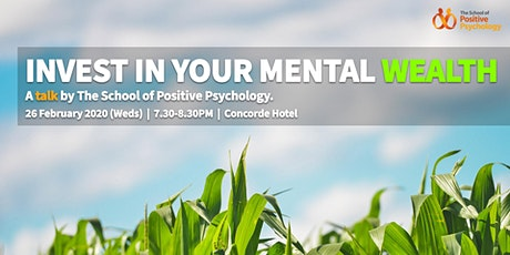 Invest in your mental wealth! tickets
