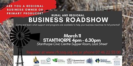STANTHORPE Business Roadshow tickets