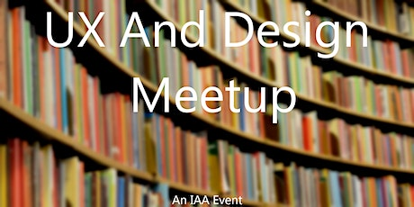 UX and Design Meetup tickets
