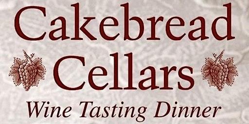 Cakebread Winery Pairing Dinner