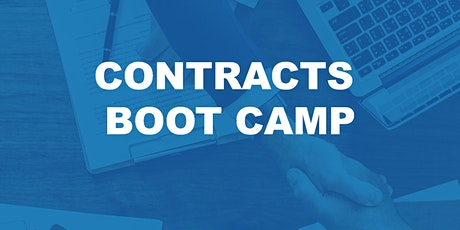 Contracts Boot Camp **3 Clock Hours** tickets