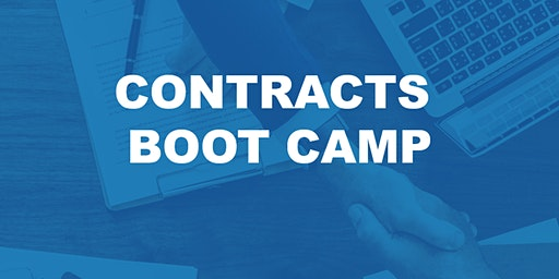 Contracts Boot Camp **3 Clock Hours**