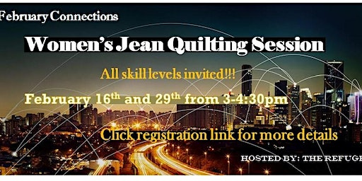 Women's Jean Quilting Session