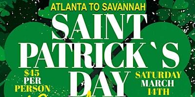 Saint Patrick's Day Party Bus Savannah