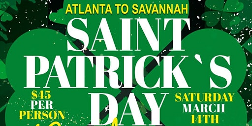 Saint Patrick's Day Party Bus Savannah