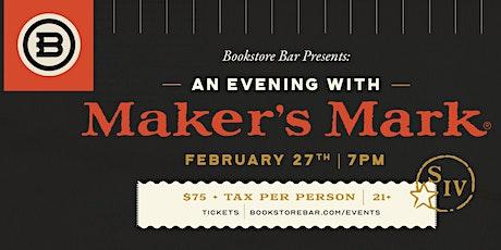 Maker's Mark Whiskey Dinner tickets