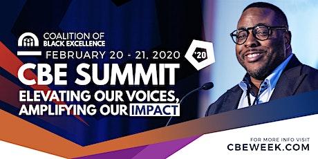 CBE Summit '20 tickets