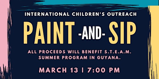 Paint and Sip for Charity