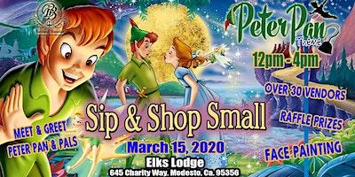 Sip & Shop Peter Pan theme