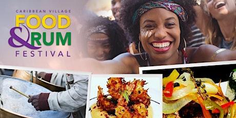 Caribbean Village Festival - Food | Rum | Fun tickets