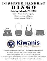 Kiwanis Club of Pottstown Designer Handbag Bingo