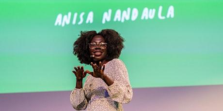Spoken word performance with Anisa Nandaula tickets