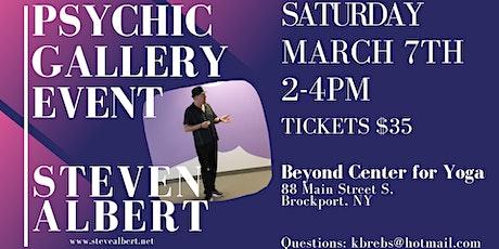 Steven Albert: Psychic Gallery Event - Beyond Yoga 3/7 tickets