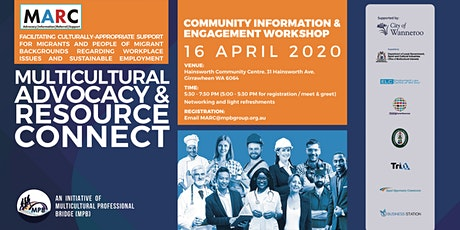Multicultural Advocacy & Resource Connect (MARC) - Wanneroo tickets