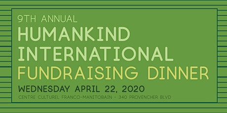 9th Annual Humankind Fundraising Dinner tickets