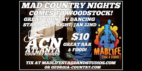 Mad Country Dance Night | RESCHEDULED tickets