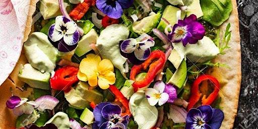 Workshop Op en top Bollenstreek! Koken met bloemen