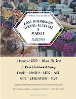 6th Annual East Hollywood Spring Festival and Market